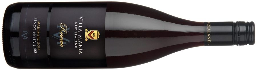 Villa Maria Reserve Marlborough Pinot Noir 2008, or, A thoroughly pleasant drop