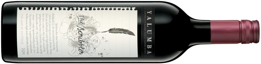 Yalumba 'The Scribbler' Cabernet Suavignon-Shiraz 2009, or, What's in a name?