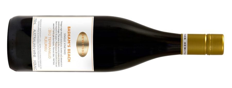 "Hewitson ""Basham's Beach"" Tempranillo 2012, or, The black olive of the family"